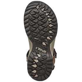 Teva Terra Fi Lite Leather Sandals Women brown